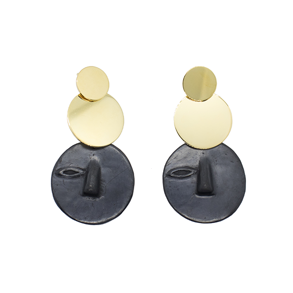 Tonal Gold Earrings