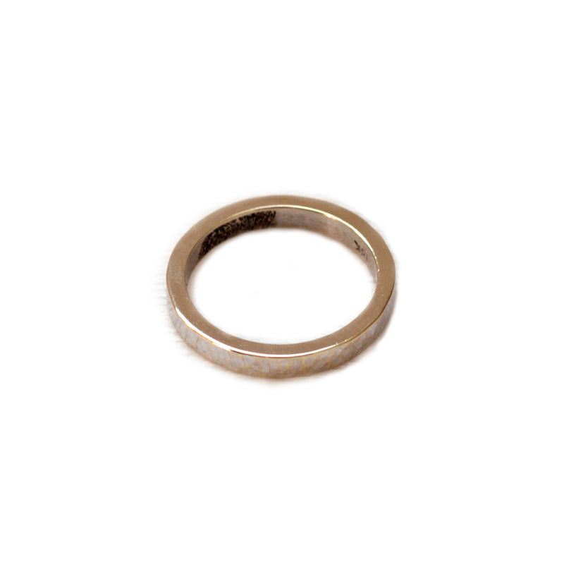 Hammer Thin Ring