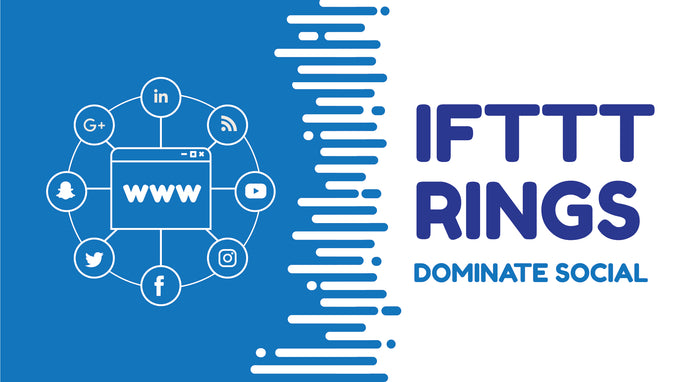 IFTTT Ring - 25 New Profiles Plus Posting Syndication