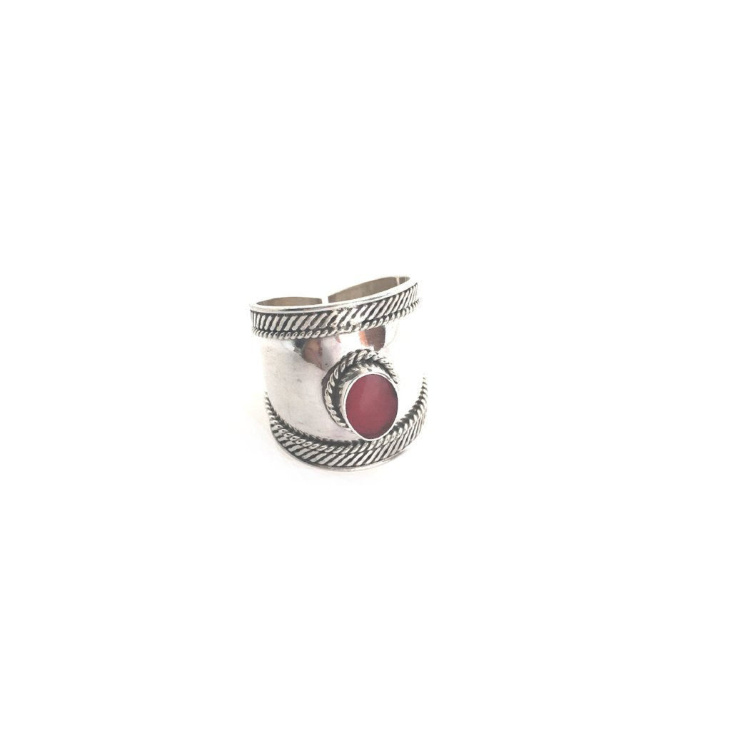 Anillo Indian Red