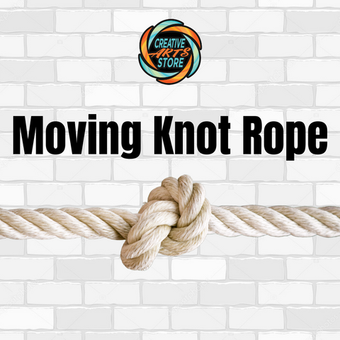 Moving Knot Rope