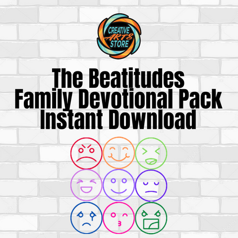 The Beatitudes Family Devotion Pack