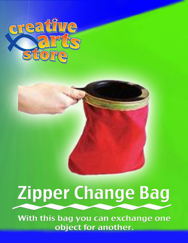 Zipper Change Bag