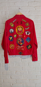 Red Boy Scout Jacket S