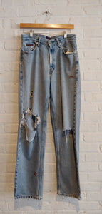 VTG Tommy Big Flag jeans 30 x 31""