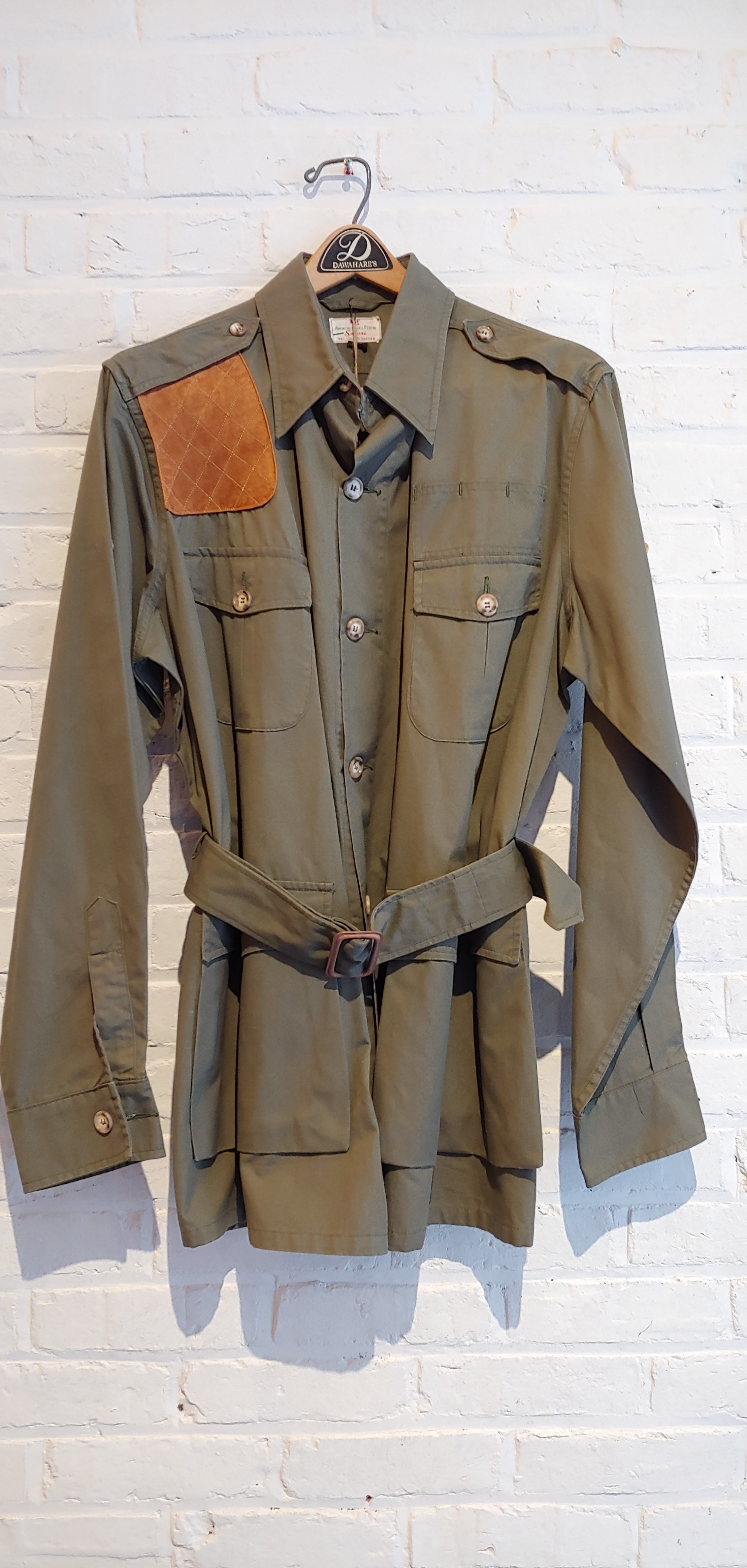 Abercrombie and Fitch Safari Jacket 60's 42L