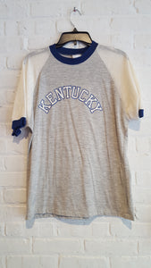 Kentucky tee w/ mesh sleeves L