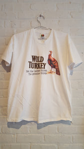"Wild Turkey ""the genuine thing"" tee XL"