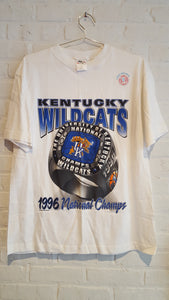 UK 1996 national champs ring tee L