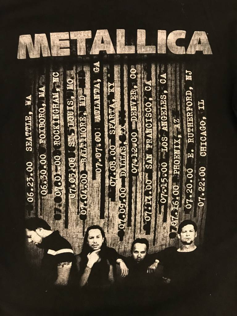 Metallica 2000 ReLoad Tour