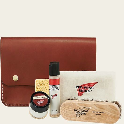 Leather Travel Cleaning Kit