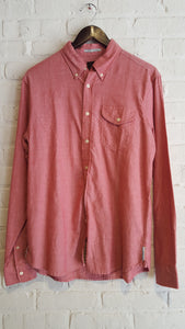 Light Oxford Red Washed