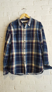 Dbl Pocket Shirt Jacket Indigo