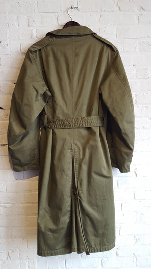 1950's US Army-Korean War Lined Trench Coat