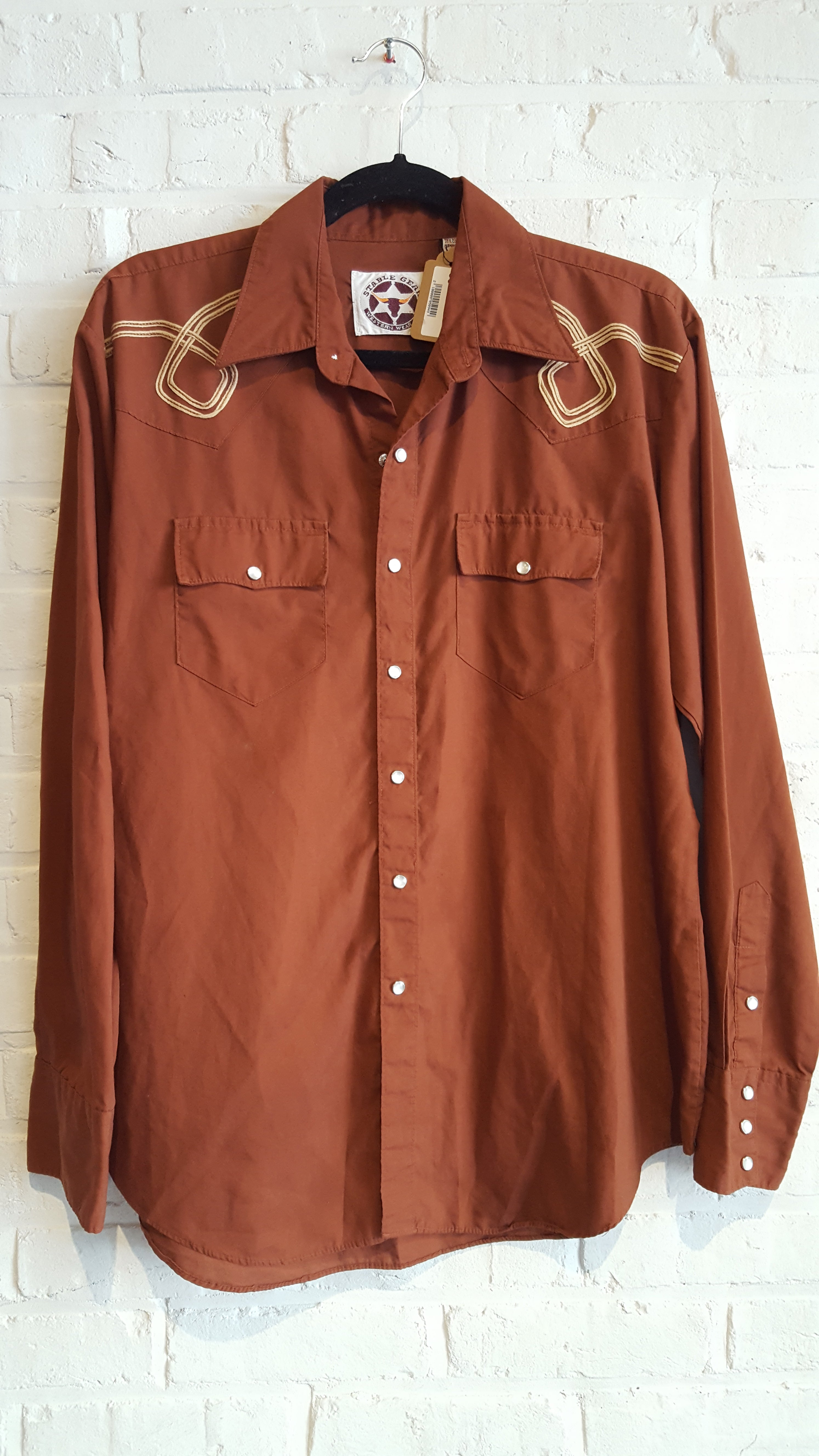 Stable Gear Western Brick Button down L