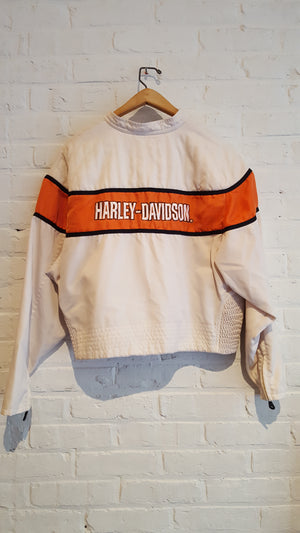 Nylon Harley Davidson racing jacket M