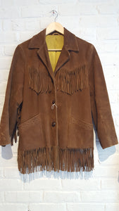 Pioneer Wear Buckskin Jacket S