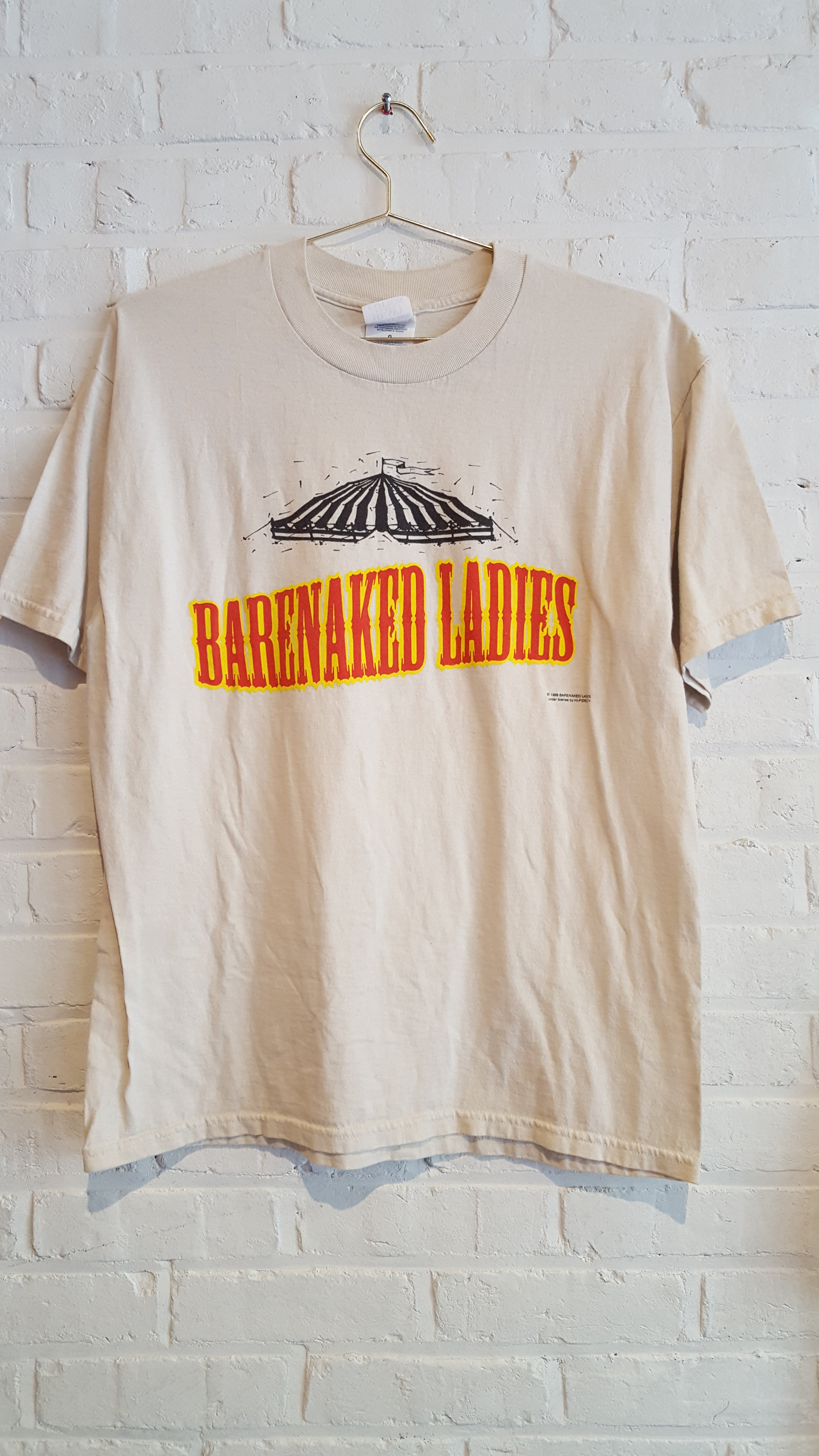 Barenaked Ladies Rock Spectacle tee L