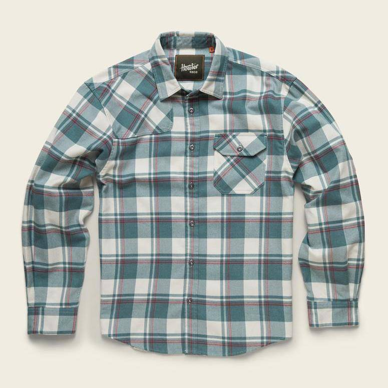 Harkers Flannel Pedernales Plaid