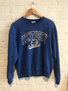 Kentucky Basketball Sweatshirt Med