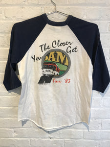 Alabama 1983 The Closer You Get Tour Shirt