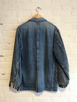 Lee 91-J Jelt Denim Chore Coat