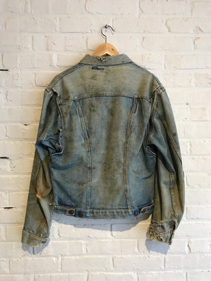 Wrangler Denim Jacket Pleat Front 60s
