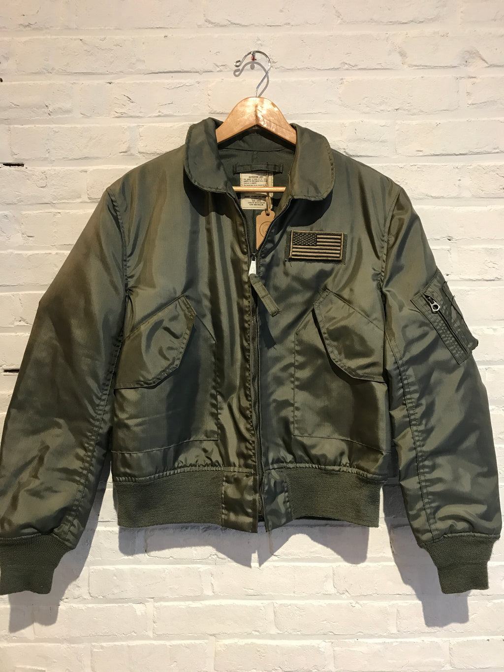 Flight Jacket OD Green