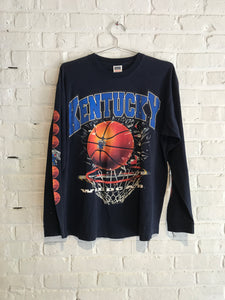Kentucky Wildcats basketball long sleeve XL