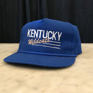 Blue Kentucky Wildcats Snapback (#6)