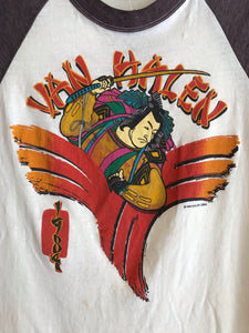 Van Halen 1984 Japan Tour