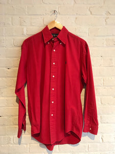 Ralph Lauren Polo Oxford Red