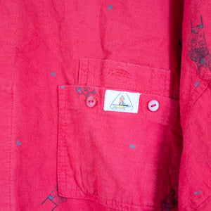 Painters Red Shirt M