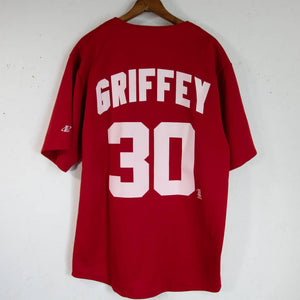 MLB Jersey Reds Griffey Jr. (Red) M