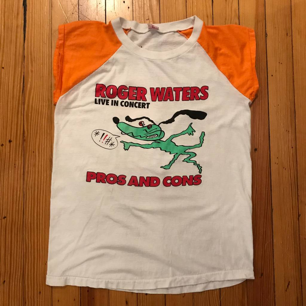 Roger Waters Pros & Cons Shirt