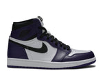 "Air Jordan 1 ""Court Purple"" - Kicksly"
