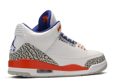 "Air Jordan 3 ""Knicks"" - Kicksly"