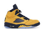 "Air Jordan 5 Retro ""Michigan"" (2019) - Kicksly"