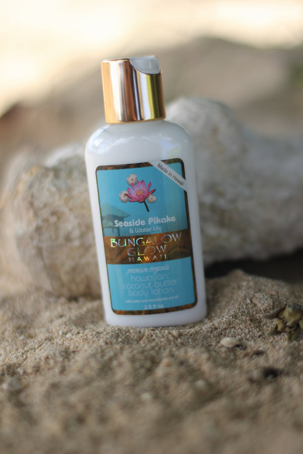 Seaside Pikake + Water Lily Coconut Butter Body Lotion 2oz