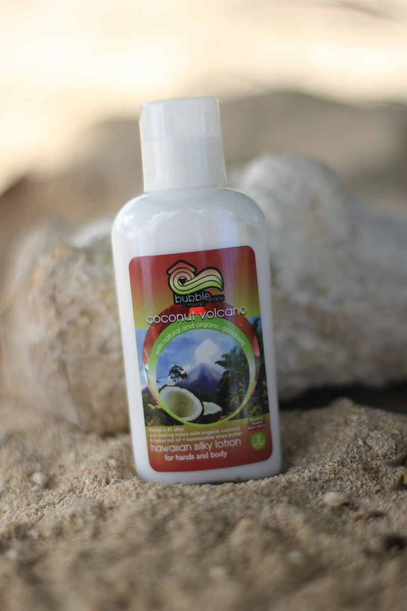 Coconut Volcano Kukui + Shea Hawaiian Silky Lotion 2oz