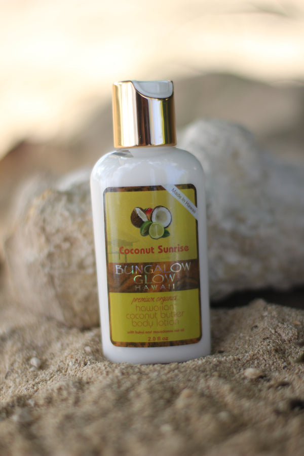 Coconut Sunrise Coconut Butter Body Lotion 2oz