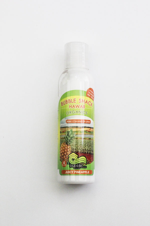 Juicy Pineapple Kukui + Shea Hawaiian Silky Lotion 4oz