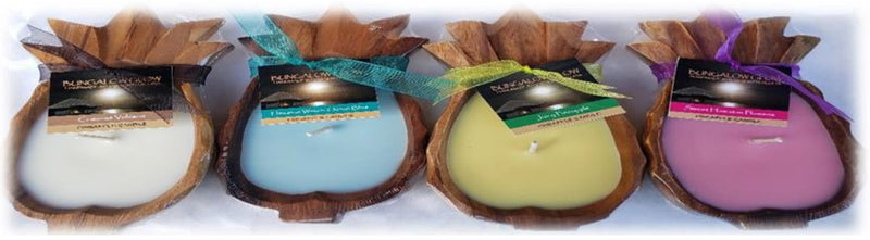 Coconut Volcano Pineapple Shaped Candles -SMALL