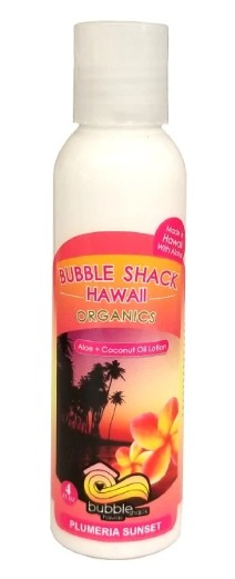 Plumeria Sunset Kukui + Shea Hawaiian Silky Lotion 4oz