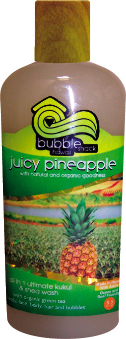 Juicy Pineapple All in 1 Ultimate Kukui + Shea Wash