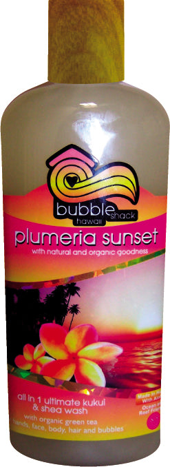 Plumeria Sunset All in1 Ultimate Kukui + Shea Wash