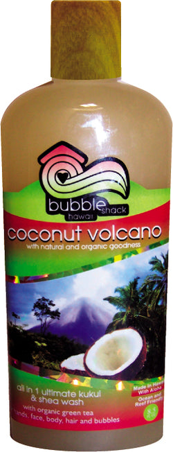 Coconut Volcano All in1 Ultimate Kukui + Shea Wash