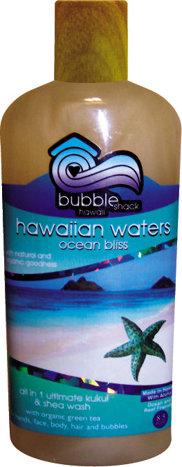 Hawaiian Waters Ocean Bliss All in 1 Ultimate Kukui + Shea Wash