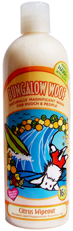 Citrus Wipeout Naturally Magnificent Wash for Dogs