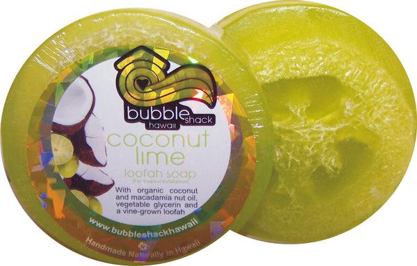 Coconut Lime Verbena Loofah Lather